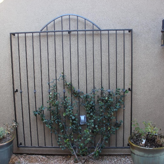 Custom Built gate and iron welding in St. George, UT.